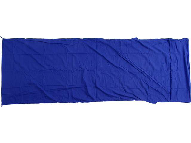 Basic Nature Mixed Sleeping Bag Liner Blanket Shape royal blue